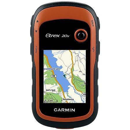 Garmin eTrex 20x - GPS de Randonnée avec Cartographie TopoActive Europe de l'Ouest Préchargée(Sans compas électronique et altimètre barométrique)
