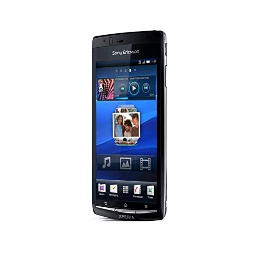Sony Ericsson Xperia Arc S Smartphone EDGE/HSPA Wifi Android GPS Noir