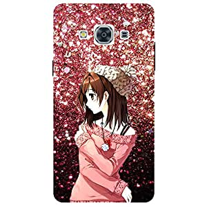 Beautiful Girl - Mobile Back Case Cover For Samsung Galaxy J3 Pro
