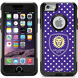 Coveroo Commuter Series Cell Phone Case for iPhone 6 - Retail Packaging - Orlando City SC Polka Dots