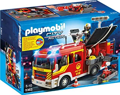 PLAYMOBIL 5363 - Löschgruppenfahrzeug mit Licht und Sound