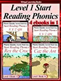 Level 1 Start Reading Phonics Books 11-14 (4 ebooks in 1) (Phonic Ebooks (Children's Start Reading Collections))