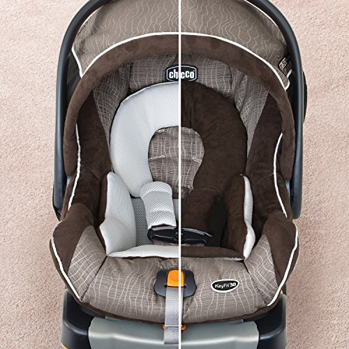 Brown And Grey Keyfit  Car Seat