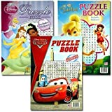 11X16 Disney Puzzle Books W/ Stickers (24 Pack)
