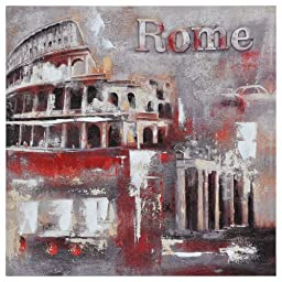 Ren-Wil OL596 Memories of Rome Hand-Painted Oil Painting by Pierrick Paradis