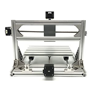 DIY CNC Router Engraving Kit, Working Area 30x18x4.5cm, DIY CNC Router Milling Machine 3 Axis Mini Wood PCB Acrylic Metal Engraving Carving Machine (Tamaño: 3018 A)