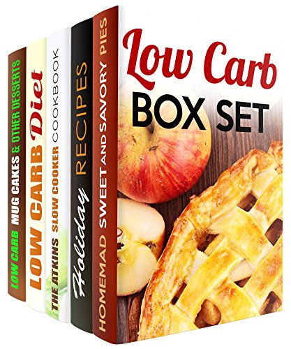 Low Carb Box Set (5 in 1): Over 150 Slow Cooker, Ketogenic, Atkins, Paleo Recipes and Low Carb Desserts (Low Carb & Paleo Slow Cooker) by Martha Olsen, Rachel Blunt, Vicki Day, Wendy Cole, Sherry Morgan