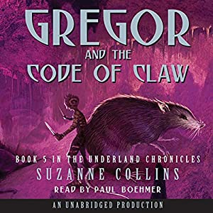 Gregor and the Code of Claw Audiobook