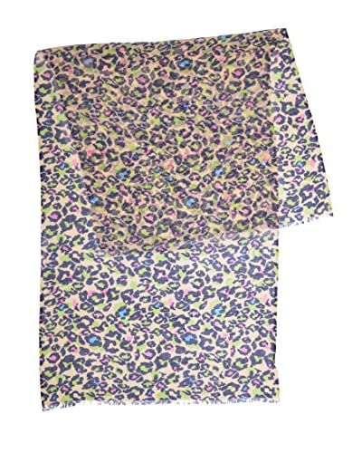 Piunobile Sciarpa Fine Merinos Wool 70X180 Khamuthi Multicolore
