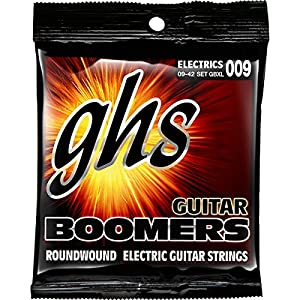 GHS Boomers Extra Light Electric Guitar Strings 10-Pack from GHS