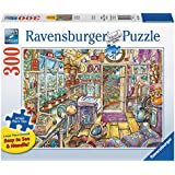 Ravensburger Cozy Potting Shed Large Format Puzzle (300-Piece)