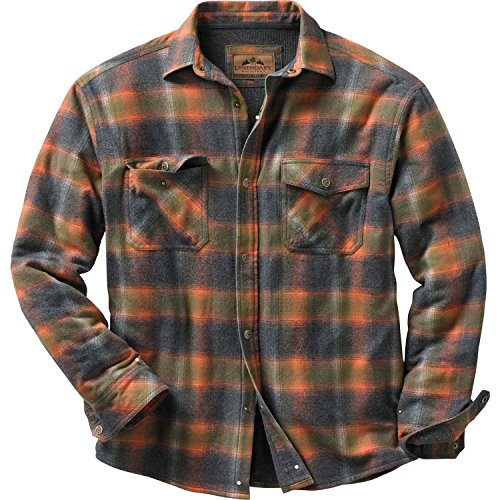 Legendary Whitetails Archer Thermal Lined Shirt Jacket Tobasco Plaid XX-Large