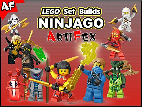 Clip: Lego Set Builds Ninjago - Season 3