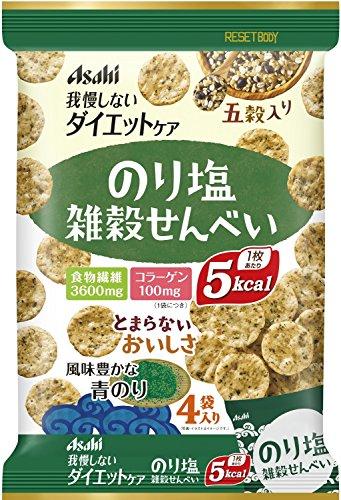 アサヒフードアンドヘルスケア リセットボディ 雑穀せんべい のり塩味 88g