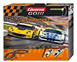 Carrera GO!!! GT Contest 1/43 Scale Electric Slot Car Race Set by Carrera USA