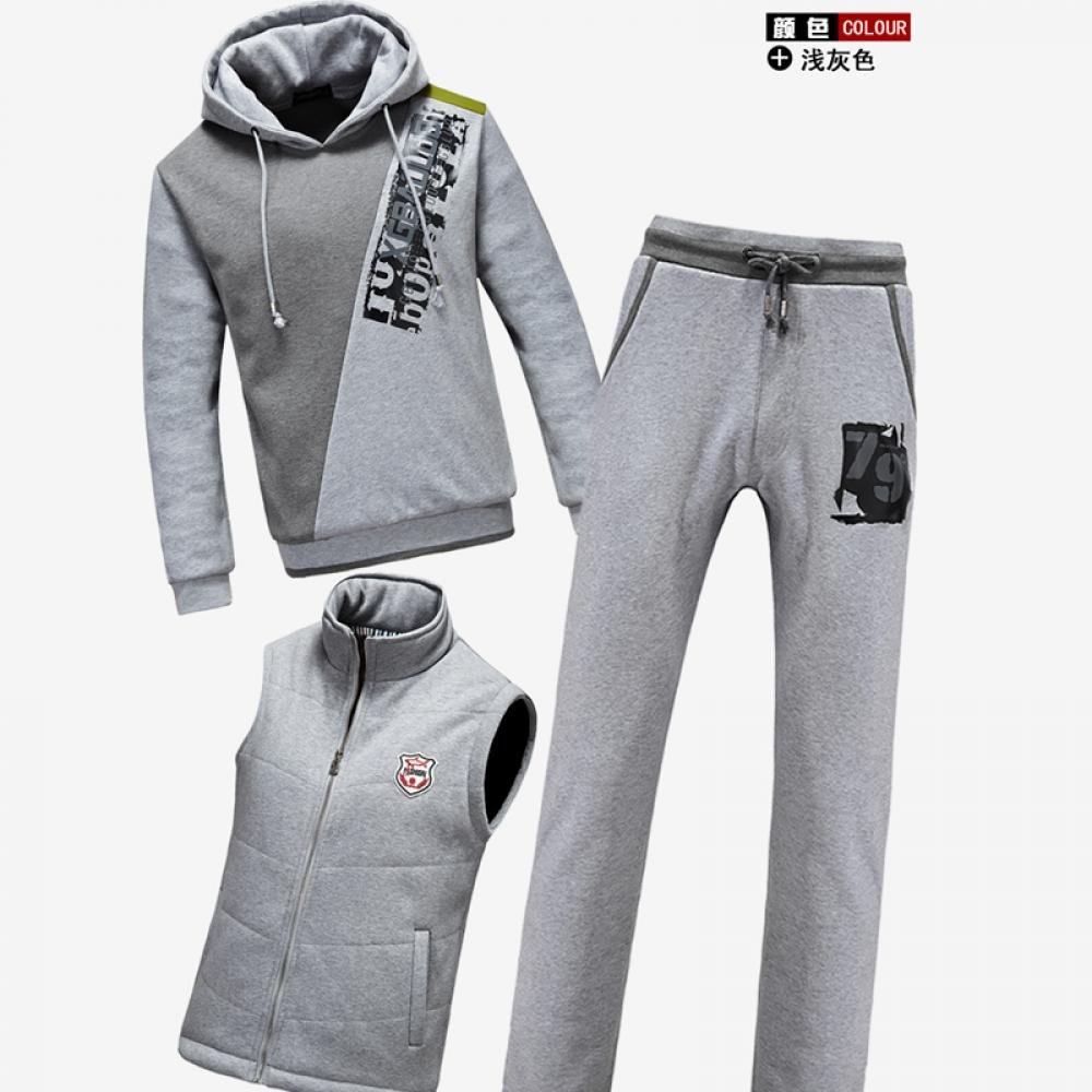 Leisure Sport Sweater Guardian Pants Three piece of Sets