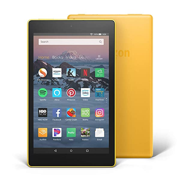 Fire HD 8 Tablet (8 HD Display, 32 GB) - Yellow (Color: Canary Yellow)