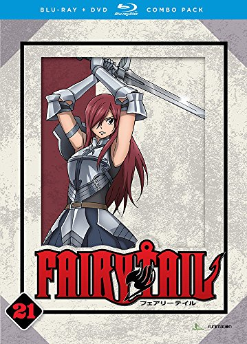 Fairy Tail: Part Twenty One [Blu-ray]