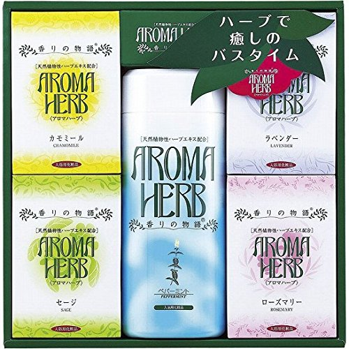 nobrand アロマハーブ 香りの物語ギフト 入浴剤