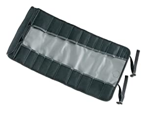 Arsenal 5870 Tool Roll-Up Pouch, 25-Pockets, Polyester, Gray (Color: Gray, Tamaño: Tall)