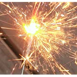 Tanday Gold Sparklers for New Year Wedding Celebration Party 6 Boxes - 72 pcs