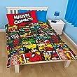 Marvel Comics Childrens/Boys Official Defenders Reversible Single Duvet Cover Bedding Set from Marvel