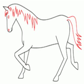 Amazon Com Drawing Horses How To Draw A Horse Appstore