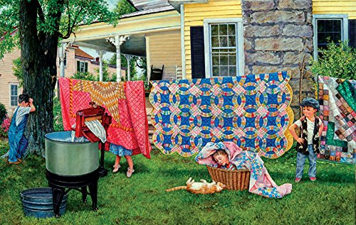 Hide N Quilt - A 550 Piece Jigsaw Puzzle by SunsOut