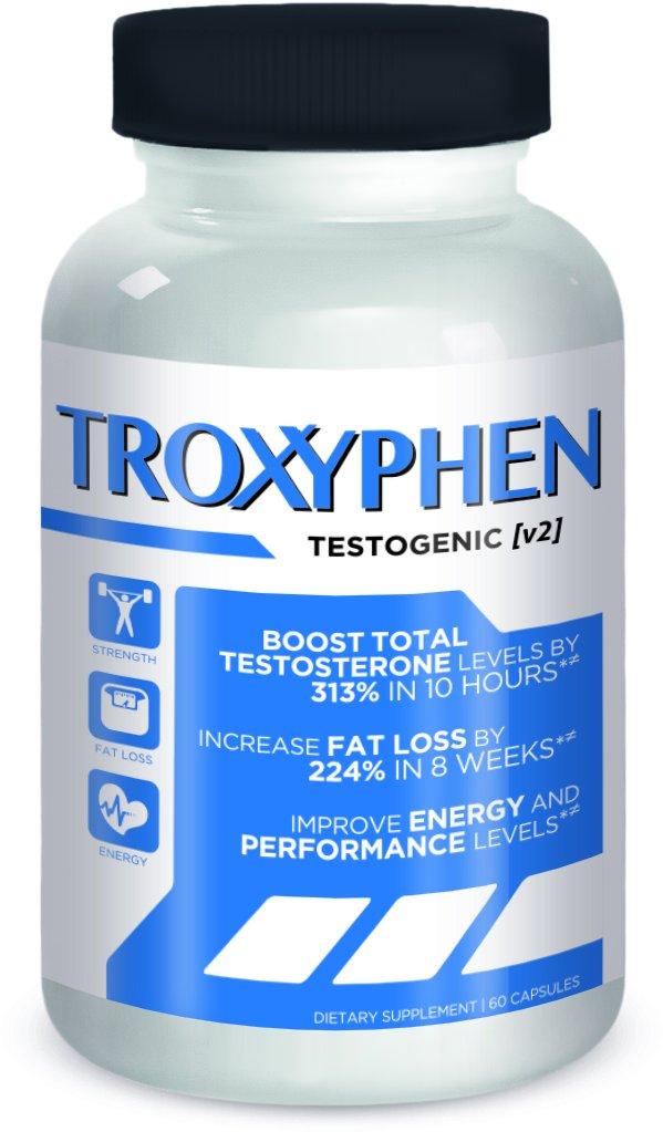 Amazon.com: TROXYPHEN Testosterone Booster & Fat Burner Stack For ...