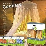 Moskitonetz: Fliegennetz Country mit Baldachin,...