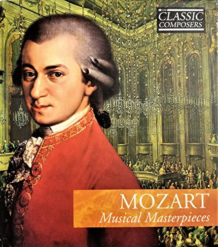 mozart musical masterpieces the classic composers volume 3 audio cd wolfgang amadeus mozart