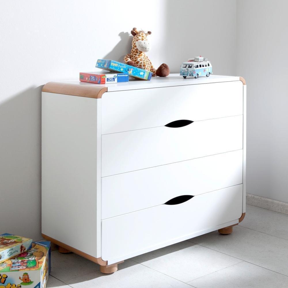 Kommode Sam Relita Buche – Weiß Holz