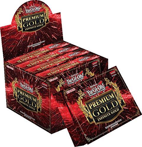 YuGiOh Premium Gold Infinite Gold Display Box [5 Mini Boxes] (Yugioh Display Case compare prices)