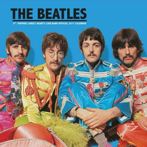 The Beatles Official 2017 Square Calendar