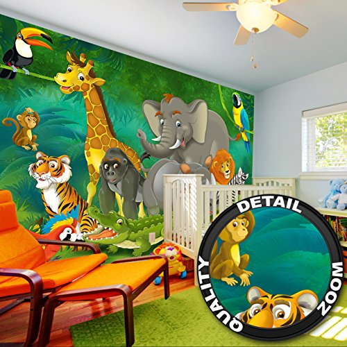 Prix des posters animaux 1 for Decoration murale jungle