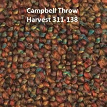 Campbell Woven Throw Color Harvest