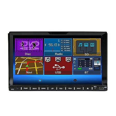 "Rungrace Lecteur DVD/CD Autoradio 7"" 2 Din Ecran TFT avec Bluetooth,RDS,ATV (RL-202DNAR03"