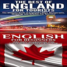 Travel Guide Box Set 2: The Best of England for Tourists & English for Beginners (       UNABRIDGED) by Getaway Guides Narrated by Millian Quinteros