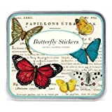 Cavallini Decorative Stickers Butterflies, Assorted