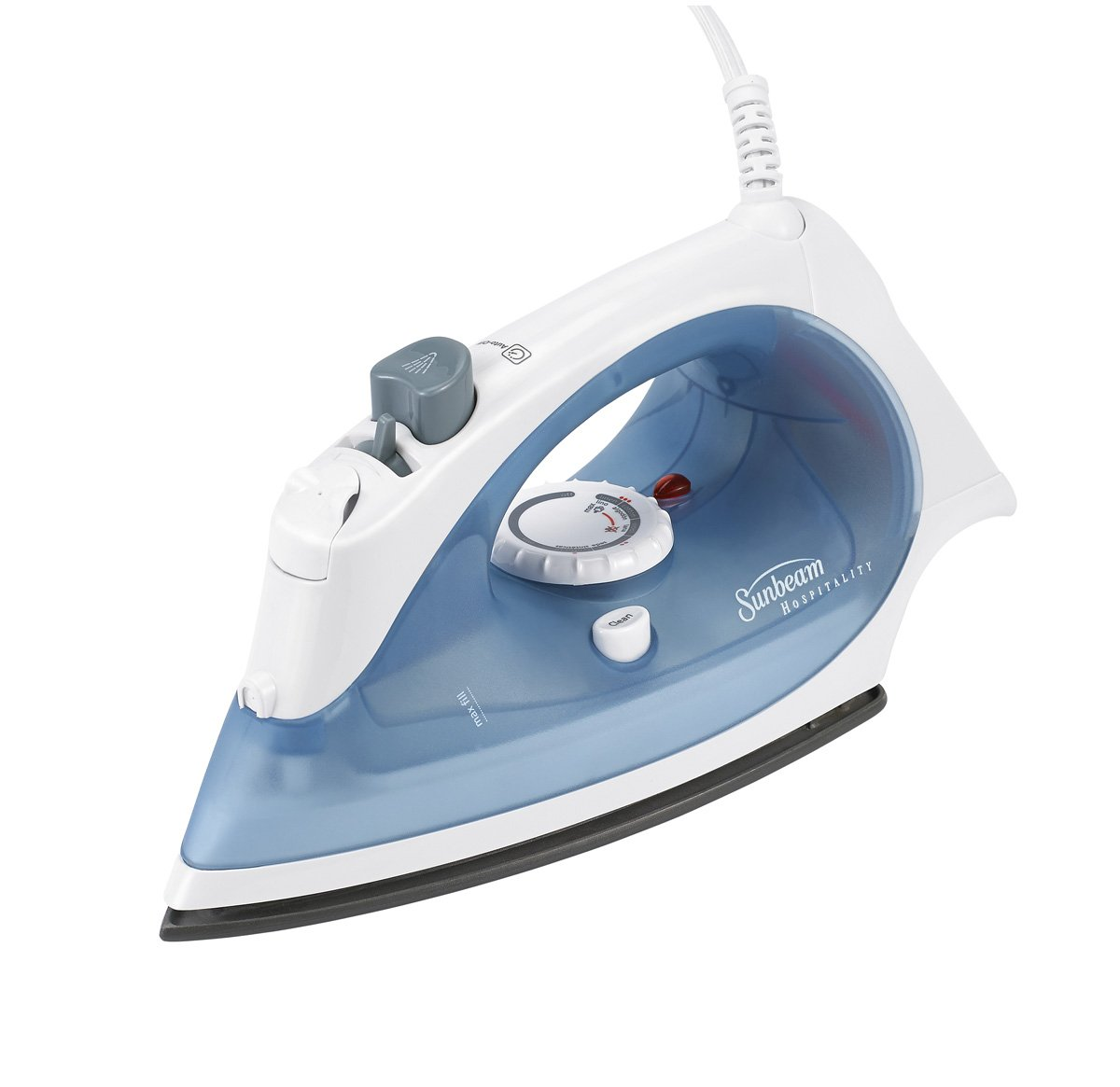 Sunbeam Greensense Compact Steam Iron, Automatic Shut-Off, Drip Free, Spray Mist, Non-Stick, Self-Cleaning