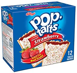 Pop-Tarts, Frosted Strawberry, (Pack of 12)