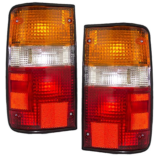 Driver and Passenger Taillights Tail Lamps Replacement for Toyota Pickup Truck 8156089166 8155089166 (Toyota Pickup Truck compare prices)