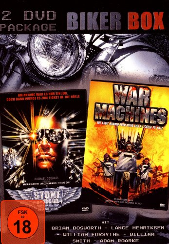 BIKER BOX (2 DVDs) Stone Cold - Kalt wie Stein & War Machines
