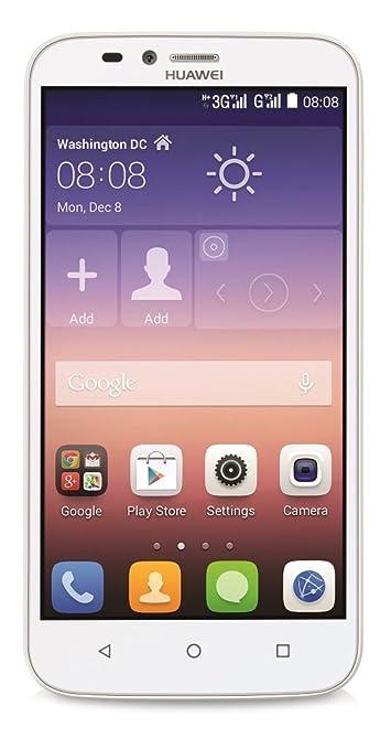Huawei Y625 Smartphone débloqué 4G (Ecran : 5 pouces - 4 Go - Android 4.4 KitKat) Blanc
