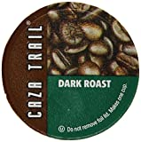 Caza Trail Single Serve Cup for Keurig K-cup Brewers, Dark Roast, 56 Count