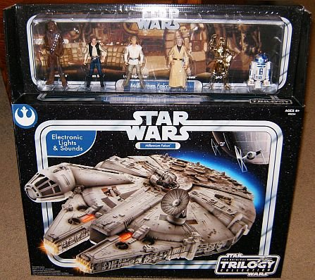 How About Star Wars Otc Electronic Millennium Falcon With 6 Crew Action Figures Original Trilogy Collection Sams Club Exclusive For Sale Online Firdos Chinweuba Daer
