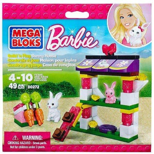 BARBIE MEGA BLOKS BUNNY HOUSE !!! - 1