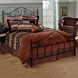 Hillsdale Furniture 1403BQR Harrison Bed Set with Rails, Queen, Texture Black