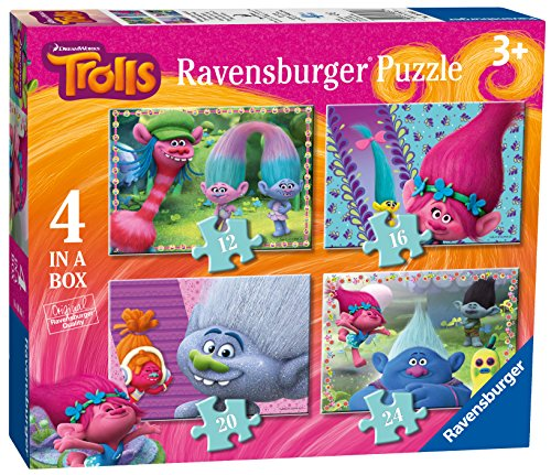 Trolls - Puzzle 4 in a box (Ravensburger 68647)