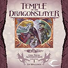 Temple of the Dragonslayer: Dragonlance: The New Adventures: Spellbinder Quartet, Book 1 Audiobook by Tim Waggoner Narrated by Jeremy Arthur